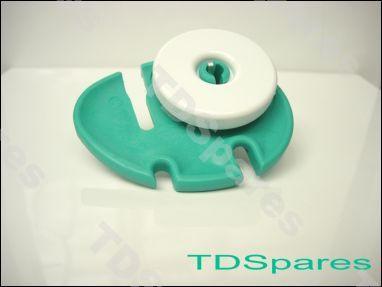 Zanussi Tricity Bendix Dishwasher Basket Guide Wheel Kit