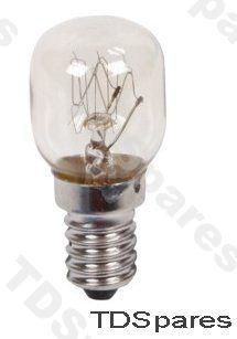 Oven Lamp Cooker Bulb 15w High Temperature 300 Deg E14 240