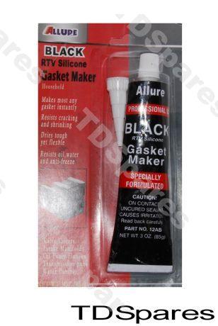 Black Rtv Silicone Rubber Sealant Gasket Maker High Temperature Up
