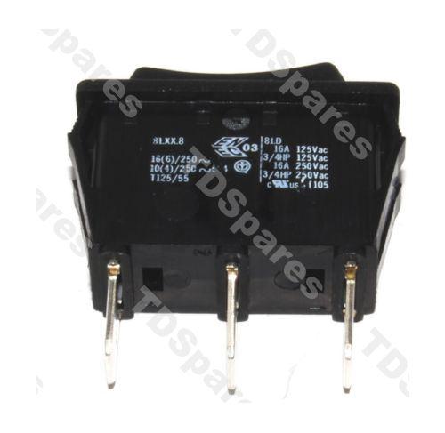 Electric Fire Switch Single Pole 16a 250v Ac 3 Position