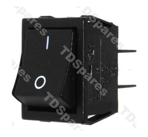 Electric Fire Switch On Off Double Pole 16A 250v AC, Rocker Switch ...