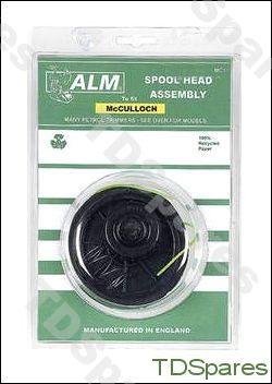 Mcculloch Trimmer Spool Head Assembly Petrol Models Mac