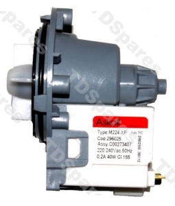 Lg wm1480fhd drain pump motor for washing machine askoll for Lg washing machine motor price