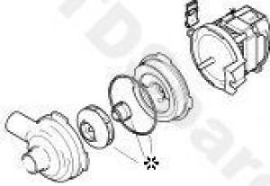 Bosch, Neff, Siemens Dishwasher Motor Repair Seal Kit