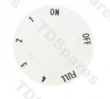 Universal White Cooker Control Knob For 4.7mm (3/16